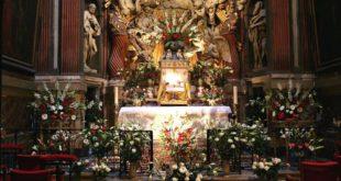 un reposoir pour le jeudi saint