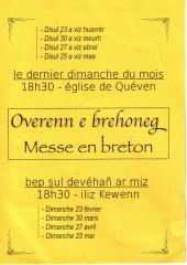messe en breton, queven