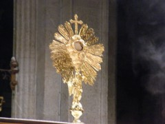 eucharistie,nouvelle évangélisation promotion de la foi