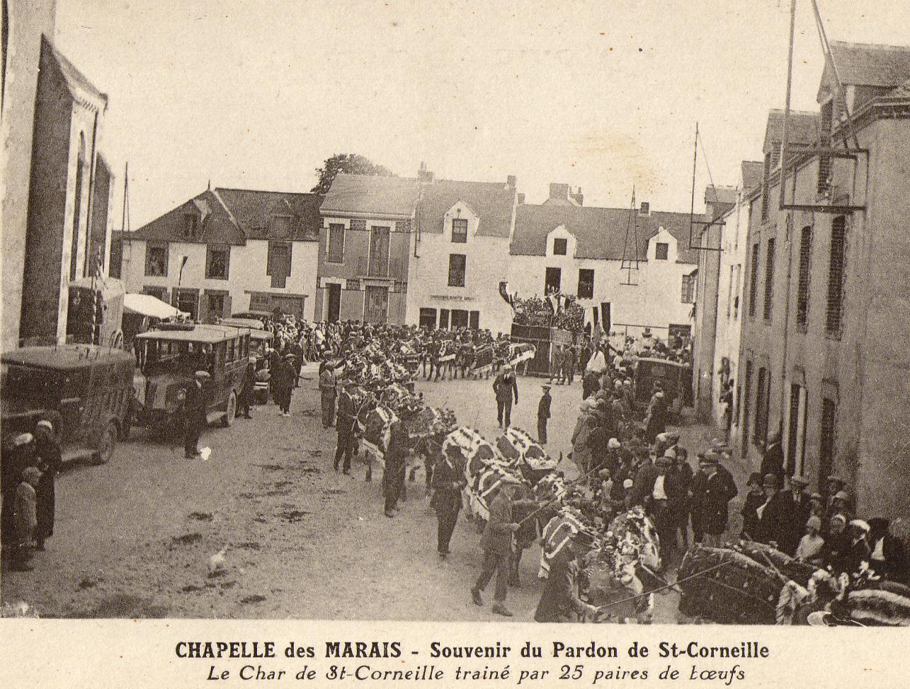 Pardon de Saint-Corneille à La-Chapelle-des-Marais en pays nantais.