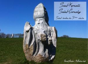 Saint Cornely, saint breton de la vallée des saints.