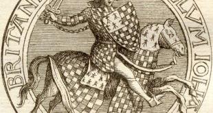 27 août 1312 : Mort d'Arthur II de Bretagne