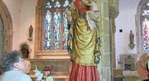[PLONEOUR LANVERN] La Vierge de Languivoa est restaurée