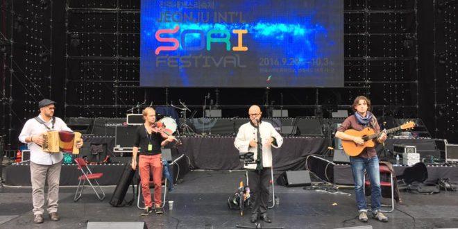 Yann-Fañch Kemener représente la Bretagne au Festival International de Sori (Corée du Sud)