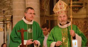 Mgr Centène et le Père Ivan Brient