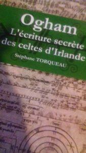 ogham, le livre de Stéphane Torquéau