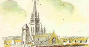 LE FOLGOET :  Le baiser à Notre-Dame