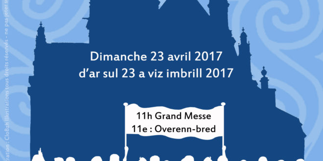 En avril, rendez-vous au pèlerinage des bretonnants