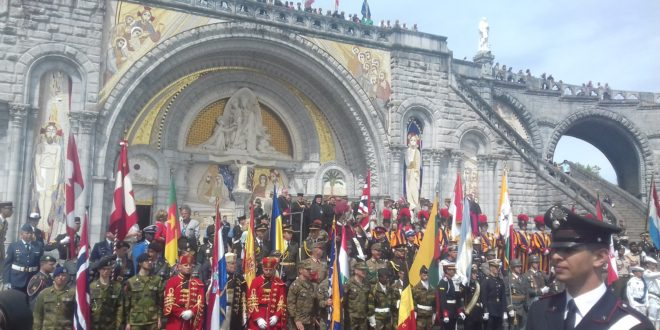 PMI (Pèlerinage Militaire International), LOURDES 17-20 mai 2018