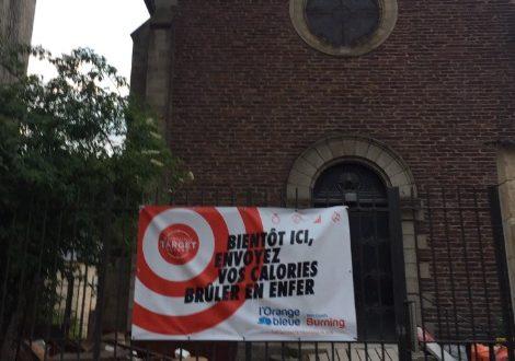 A Rennes, une chapelle devient centre de fitness : «envoyez vos calories brûler en enfer !»