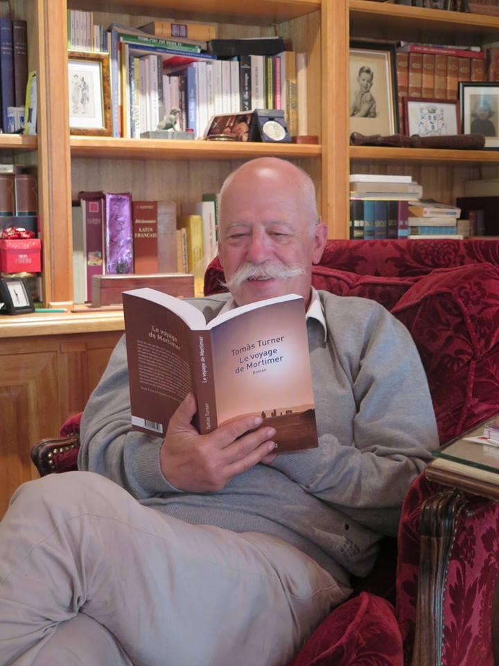 Yves Daniel lit Le voyage de Mortimer, de Tomàs Turner