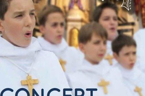 Tournée de concerts en Bretagne au profit de l'Œuvre d'Orient.