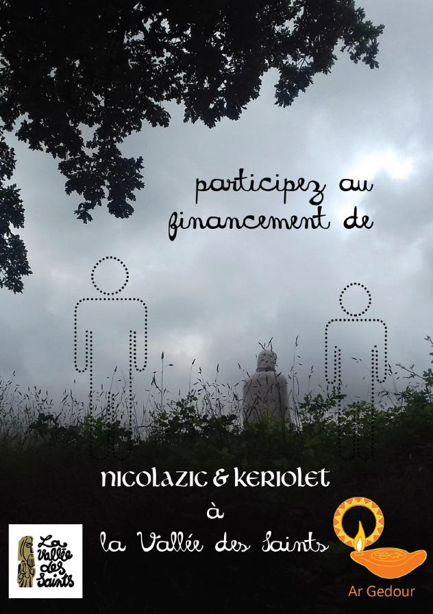 Financez la statue de Nicolazic à la Vallée des Saints