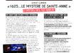 """""""1625… le mystère de Sainte-Anne"""", le spectacle qu'il faut avoir vu !"""