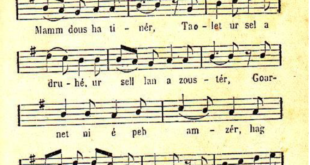 Explication d'un cantique breton: Itron Varia Keluen