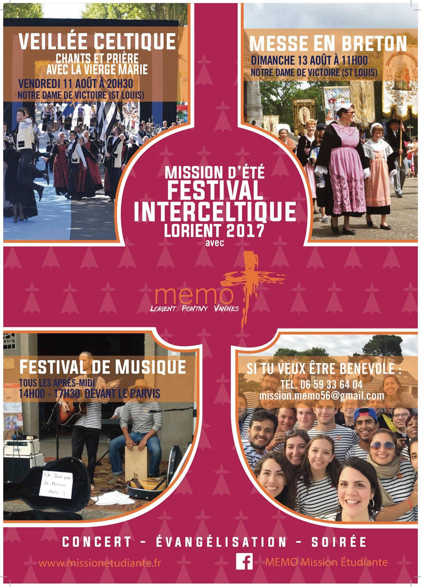 veillée festival interceltique
