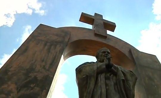 [PLOERMEL] Ce samedi, messe et bénédiction de la statue de Jean-Paul II