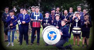vignette bagad Tri Bleiz - guides et scouts d'europe