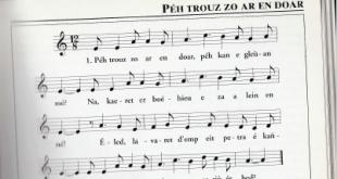 """Explication d'un cantique breton """" Péh trouz zo ar en douar"""""""
