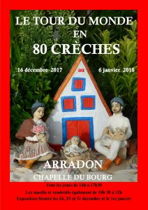 EXPOSITION Creche arradon