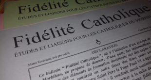 De Mater Ecclesiae à Fidélité Catholique, deux publications qui ont marqué le Diocèse de Vannes