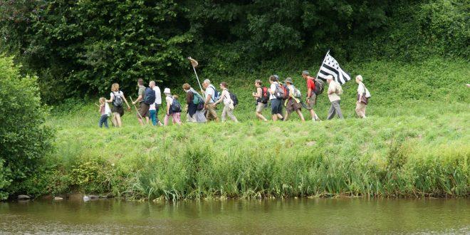 Marche du Tro Breiz pour la fraternité Saint Patern ce dimanche 21 octobre 2018