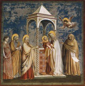 presentation jesus au temple