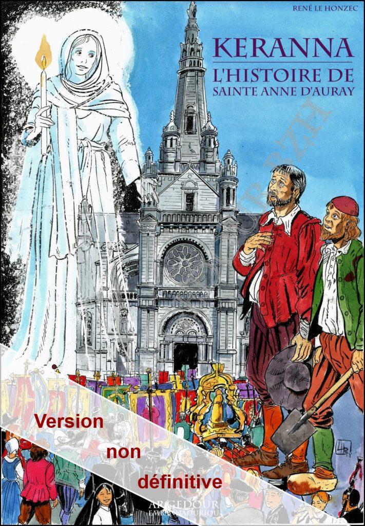bande dessinée sainte anne