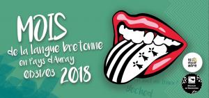 Mois de la langue bretonne en pays d'auray en 2018.