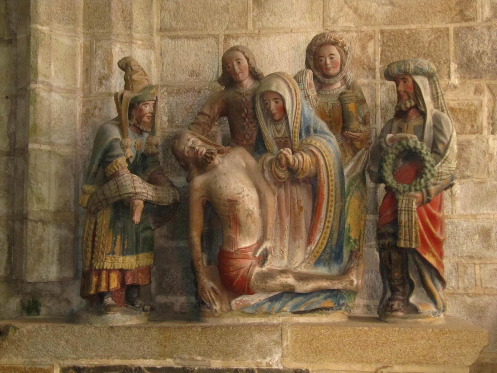 mise au tombeau Jésus