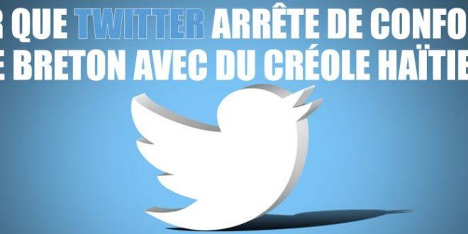 Votez pour que Twitter ne confonde plus le breton avec d'autres langues.