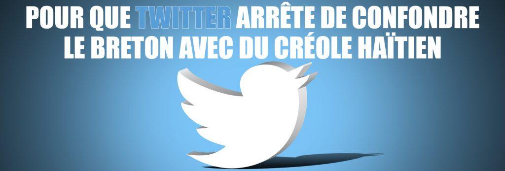 Pour que Twitter ne confonde plus le breton avec d'autres langues