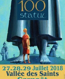 Vallée des saints : 3 jours « Géants » pour célébrer la 100e statue monumentale
