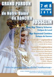 Notre Dame du Roncier 2018