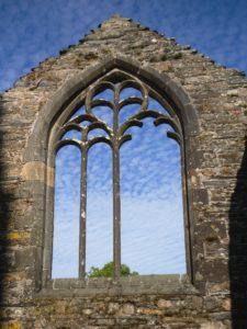 ruine église bretagne