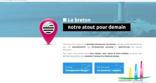 L'enseignement catholique a son site pour promouvoir la langue bretonne