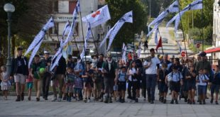 [SAINTE ANNE D'AURAY] 600 personnes pour l'arrivée du Pèlerinage Feiz é Breizh (MàJ du 2/10 avec vidéo)