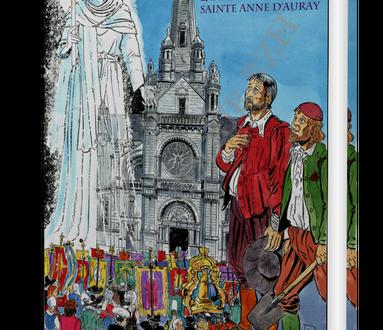 """Pré-commandez la BD """"Keranna, l'histoire de Sainte Anne d'Auray"""" ou son édition luxe"""