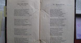 Un recueil de cantiques protestants datant de 1889