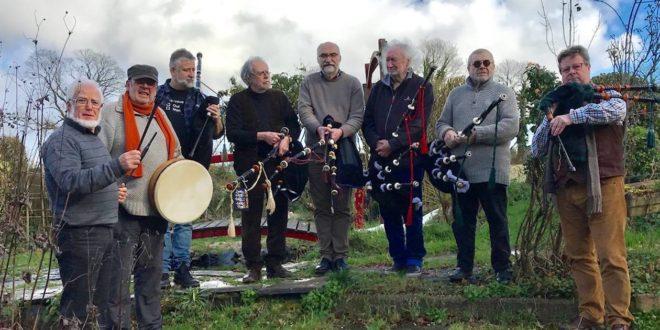 [11 novembre] Un hommage aux sonneurs écossais tombés durant la Grande Guerre