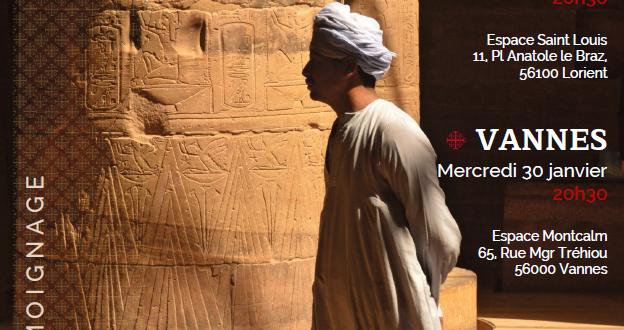 [LORIENT] et [VANNES] (29/01 et 30/01) : Quelle place pour les chrétiens coptes en Égypte ?