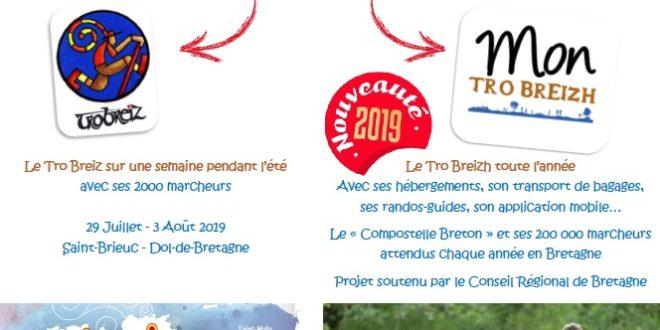 TRO BREIZ : édition 2019 de Saint-Brieuc à Dol-de-Bretagne… et lancement de l'itinéraire permanent.