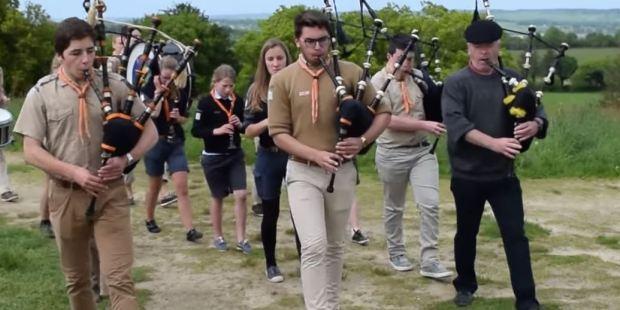 [Revue de presse]Le Bagad Saint Patrick, une troupe scoute unique