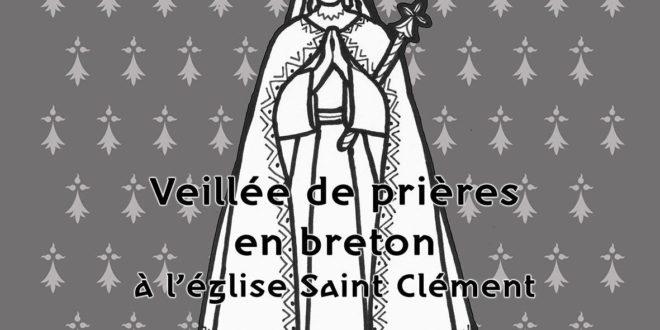 11/05/2019 : Beilhadeg-pediñ e Naoned – Veillée de prière à Nantes