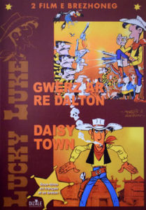 Deux dessins animés en breton de Lucky Luke.