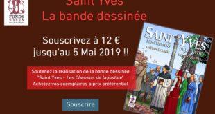 Une bande-dessinée sur Saint Yves en souscription