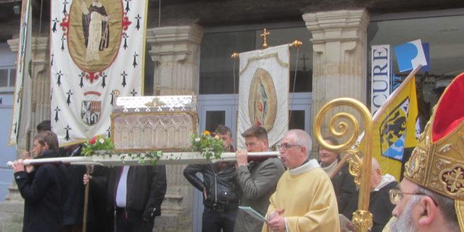 Les reliques de Saint Vincent Ferrier volées à Garlan