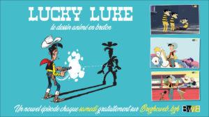 Lucky Luke en breton sur Brezhoweb.