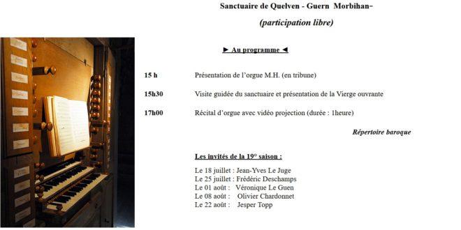 [GUERN] Les Jeudis de Quelven et le répertoire baroque à la campagne