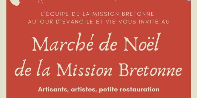 La Mission Bretonne de Paris organise un marché de Noël au profit de Breiz Santel